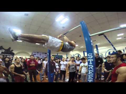 Kazakhstan, Astana WSWC 2014 BAR BARS WORKOUT
