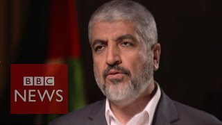 "Hamas: ""We are expecting difficult times with Netanyahu"" says Khaled Meshaal - BBC News"