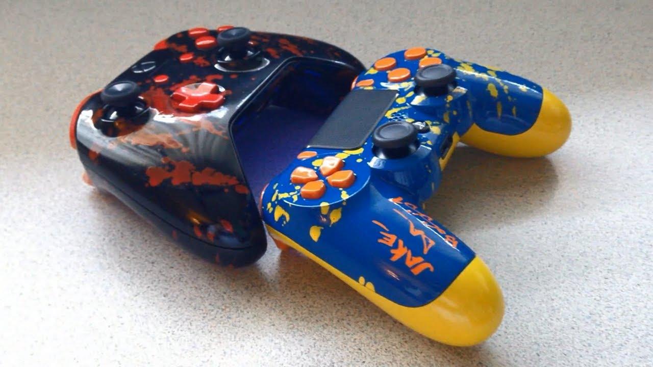Xbox One Amp PS4 Custom Controller Acidic Gaming YouTube