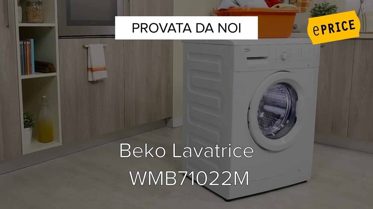 Video Recensione Lavatrice Beko Wmb71022m Youtube