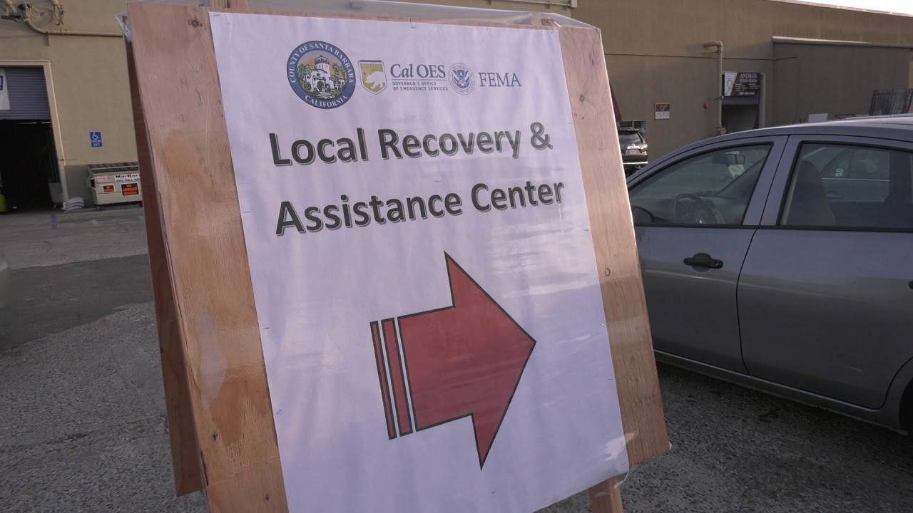Local Assistance Center Opens In Santa Barbara County