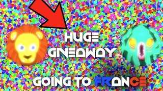 agar io huge giveaway going to france insane uncut