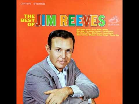 Blue Boy , Jim Reeves , 1958 Vinyl