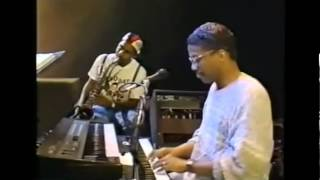 Sting y Herbie Hancock en 1988 - Lady Be Good (Gershwin)