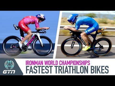 Fast Triathlon Bikes From The 2018 Ironman World Championships