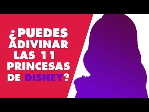 Adivina las princesas de Disney a partir de sus siluetas | Oh My Disney