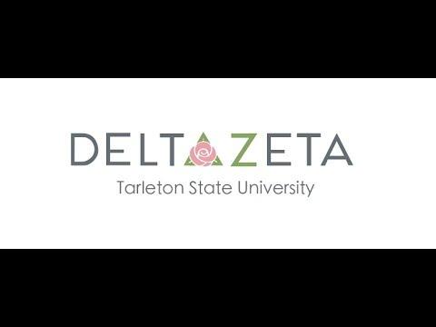 Tarleton State University Delta Zeta Recruitment Video 2018