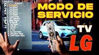Modo De Servicio En Tv LG Con …