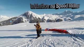Initiation au Speed Riding - La plagne 2019