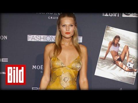 Super-Model Toni Garrn kämpft für Mädchen in Afrika