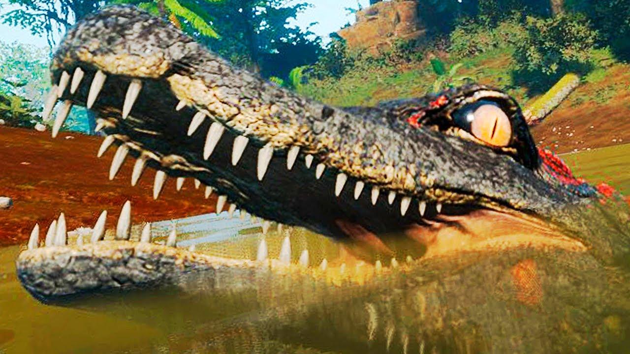 Download Nos Olhos do Deinosuchus + Invasão ao Ninho dos Utahraptors   The Isle Evrima   (PT/BR)