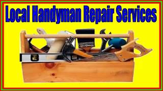 San Antonio Tx  Local Handyman Repair Services