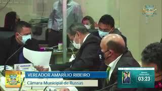 Amarílio Ribeiro   Pequeno Expediente Russas 02 02 21