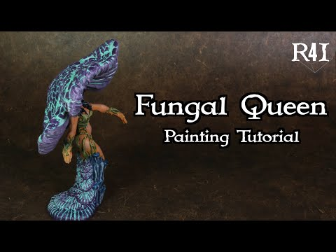 Fungal Queen Painting Tutorial thumbnail