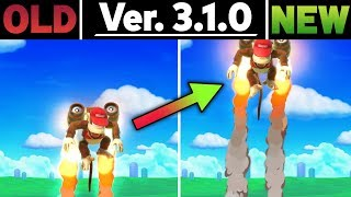 Smash Ultimate Patch 3.1.0 - Side by Side Comparison