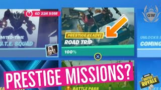 What are PRESTIGE MISSIONS in Fortnite Season 10? How to unlock Prestige missions in Fortnite!