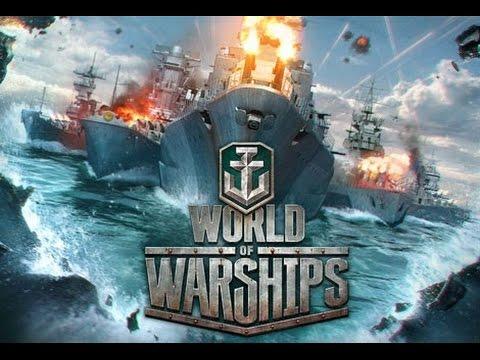 World of Warships Closed beta: Ship types