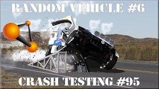 BeamNG Drive Random Vehicle #6 Crash Testing #95