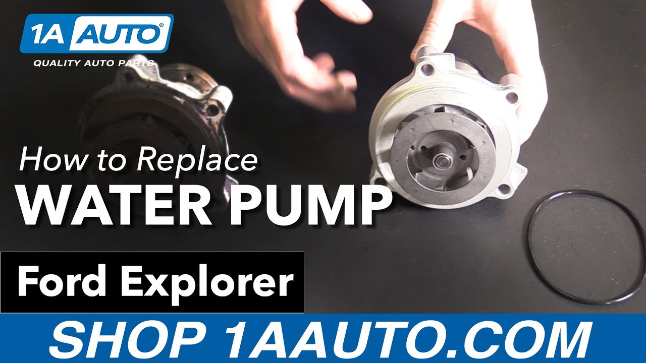 How to replace install water pump 2002 10 ford explorer buy quality auto parts at 1aauto com