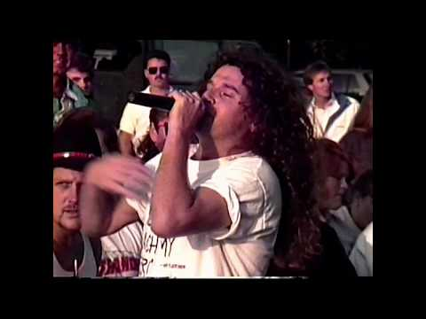 The Stranger Band at Hooters Orlando 1992 with The Baxter&Mark Show Live
