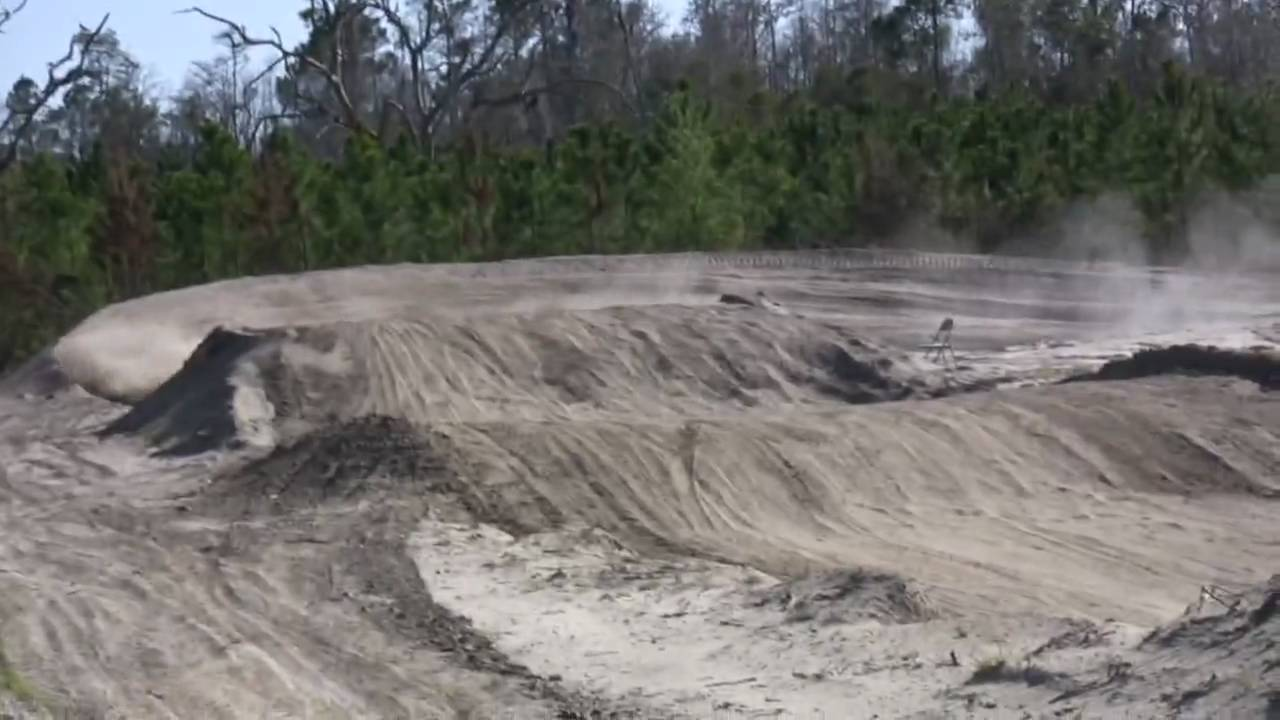 Dirt bike and atvs jumping at the motoplex youtube for What is dirt made out of