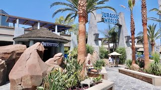 Universal Studios Hollywood Opens Jurassic World Area - NEW Merchandise / Food & Drinks / Walk Thru