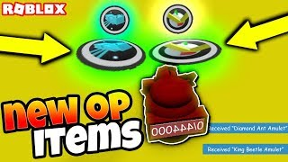 *NEW* OP AMULETS & ANT BOSSES?! (Roblox Bee Swarm Simulator Update)