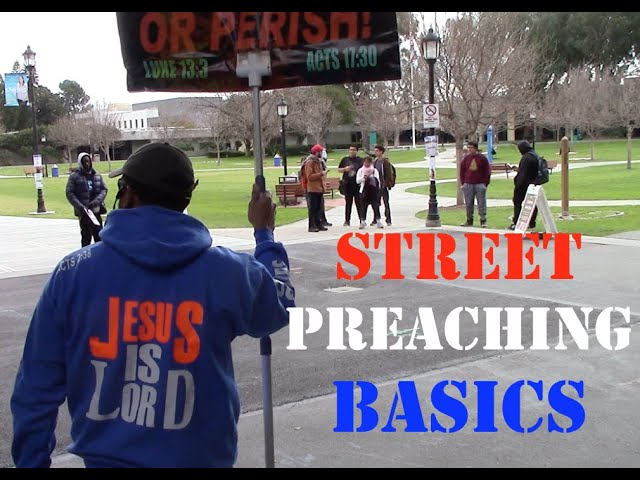 Thinking about Street Preaching? Watch this first!
