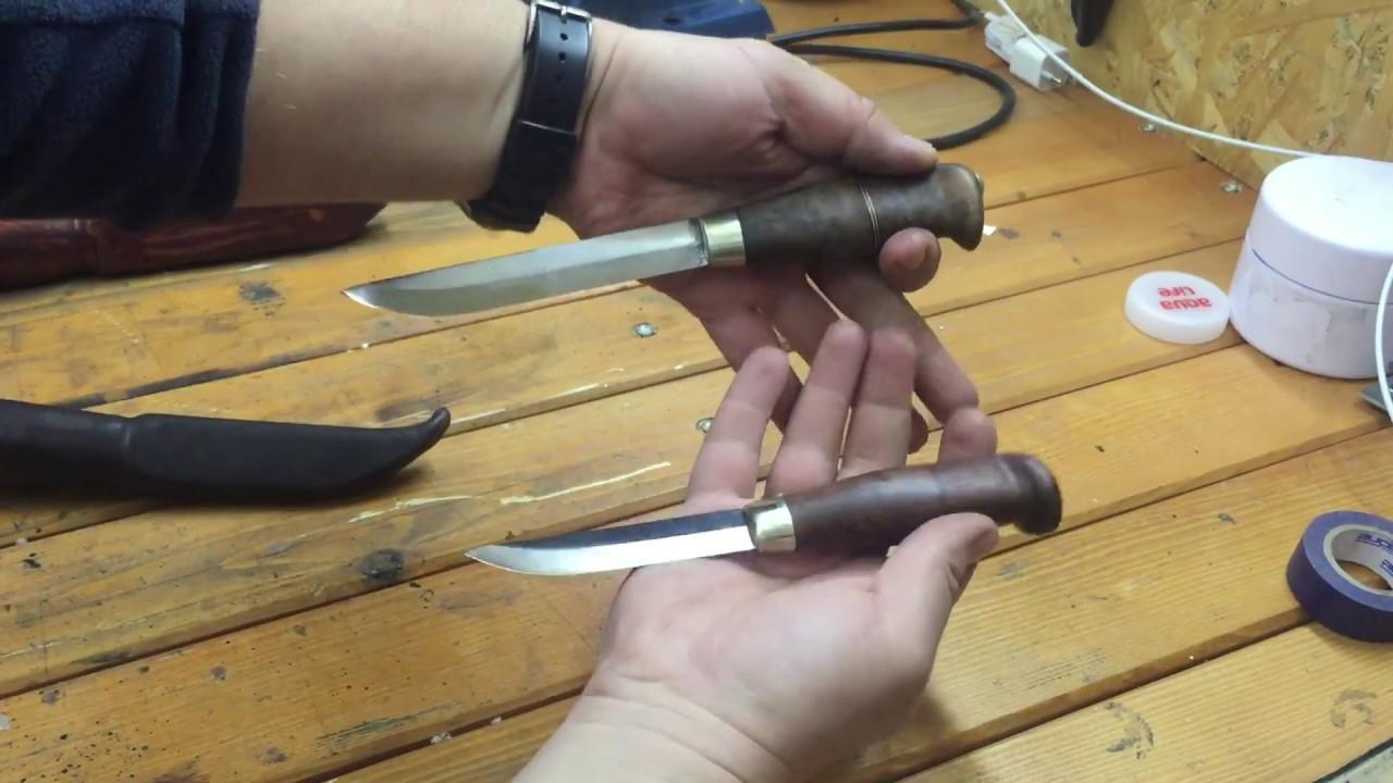 Финские ножи размеры клинков 75мм 95мм 125мм. Для тех кто определяется с размером клинка
