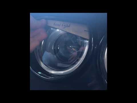 /'15 Challenger//Hellcat Aggressive Headlight Visors 1