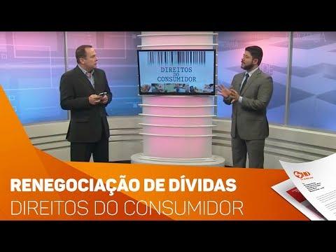 Quadro Direitos do Consumidor: renegociações de dívidas - TV SOROCABA/SBT
