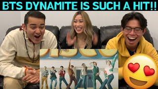 Download lagu BTS (방탄소년단) 'Dynamite' Official MV CANADIANS REACT!!