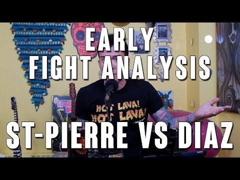 Georges St-Pierre vs Nate Diaz Early Fight Analysis