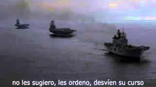 Conversacion por radio entre gallegos y la armada estadounidense