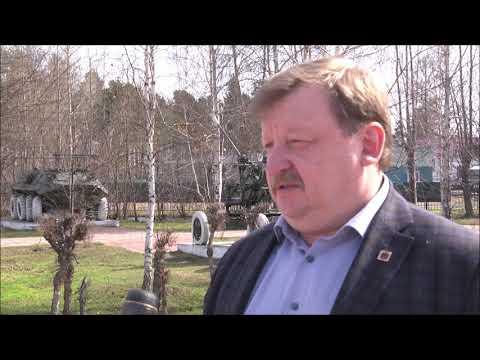 Депутат ГД осмотрел парк города-музея Мариинска, который вошел в партийный проект