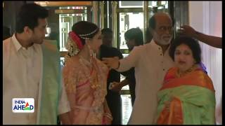 Celebrities at Soundarya Rajinikanth wedding