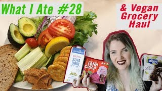 What I Eat In A Day + Vegan Grocery Haul | What I Ate #28