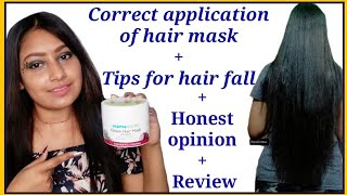 Best Onion hair mask for hairfall Honest Product Review Application 2020