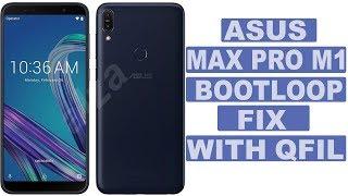 ASUS Zenfone max pro M1 dead boot repair with Qfil tool.