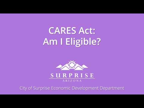 CARES Act: Am I Eligible video thumbnail
