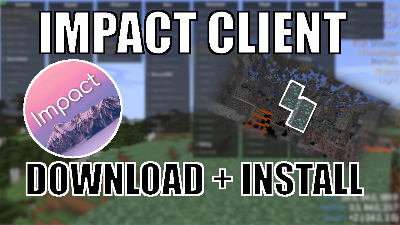 How To Install IMPACT CLIENT For MINECRAFT JAVA (✓Working 2021✓)