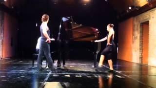 Danze di carattere,Rond de jambe par terre, tango
