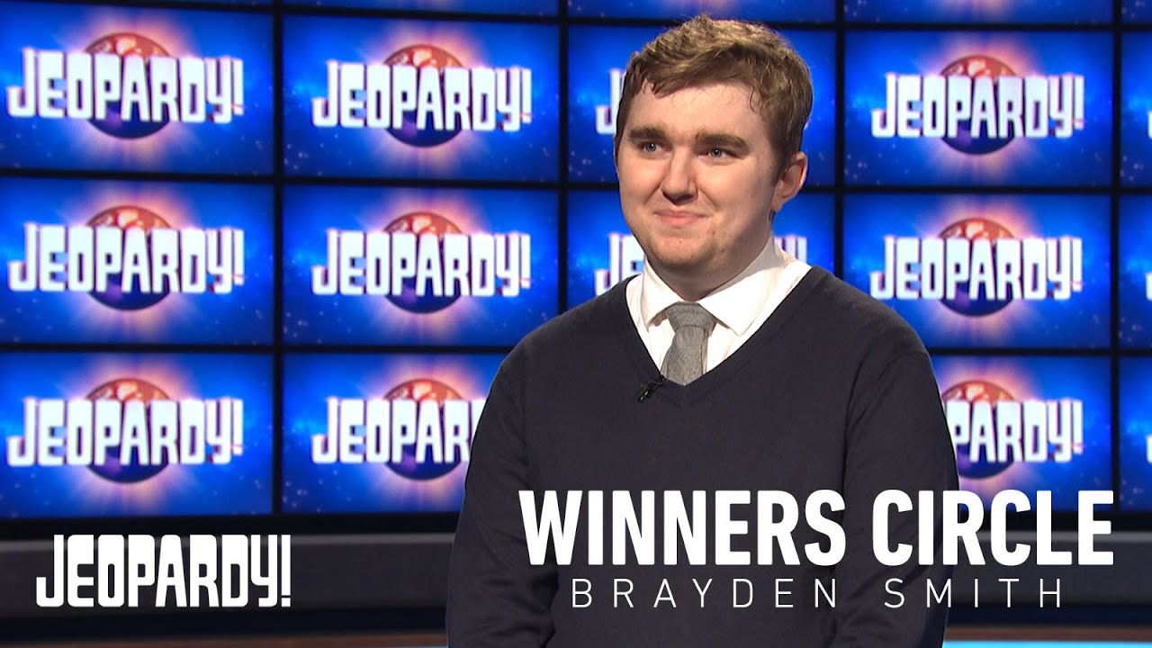 'Jeopardy!' champ Brayden Smith, who competed on Alex Trebek's ...