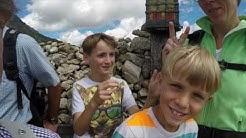 Famlienausflug von Meran 2000 zum Kratzbergsee