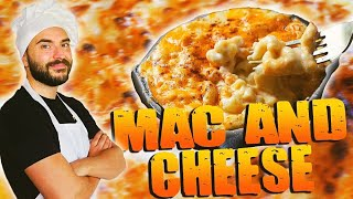Le Mac and Cheese triple Cheese !