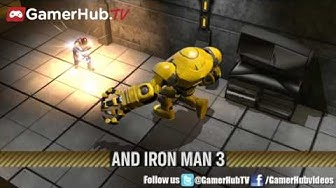 Iron Man 3 Flies Into Marvel Heroes Online Game - Gamerhubtv