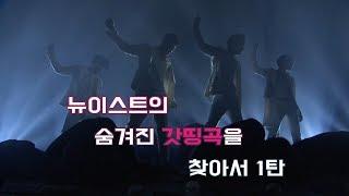 [뉴이스트]NU'EST의 숨겨진 갓띵곡을 찾아서 1탄 Beautiful Ghost, Big Deal, R.L.T.L  [빛의그늘의 사심편집]