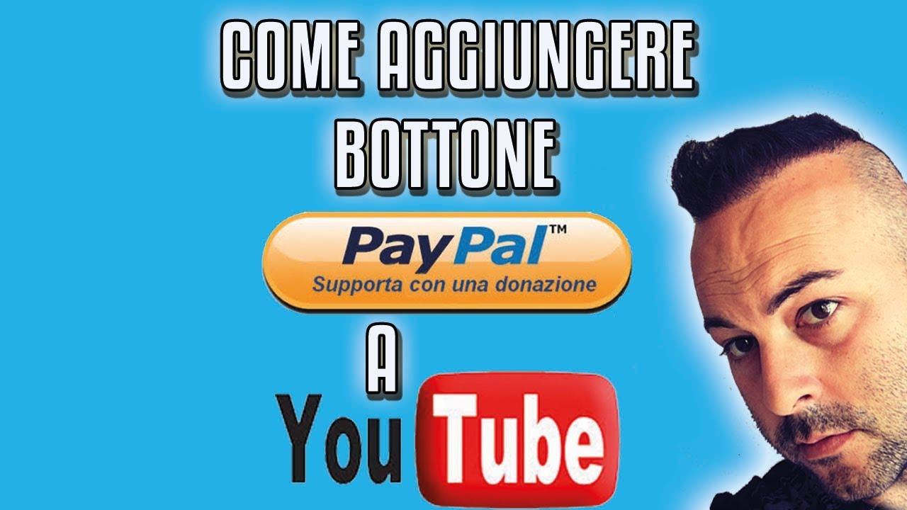 come ricevere donazioni su youtube
