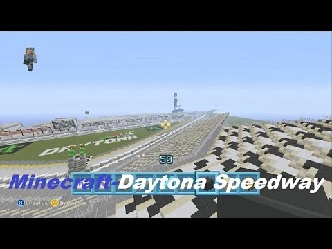 Image Result For How To Build A Nascar Track In Minecraft