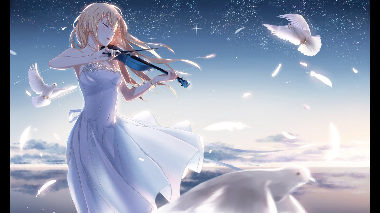 Cute Love Couple Wallpaper Full Hd Most Emotional Music Collection Quot Shigatsu Wa Kimi No Uso